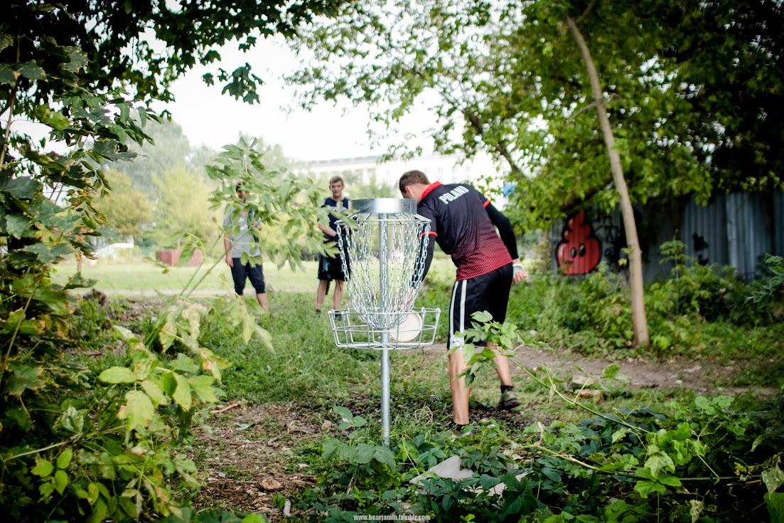 Warsaw Disc Golf Open 2016 Stadion Syrenka